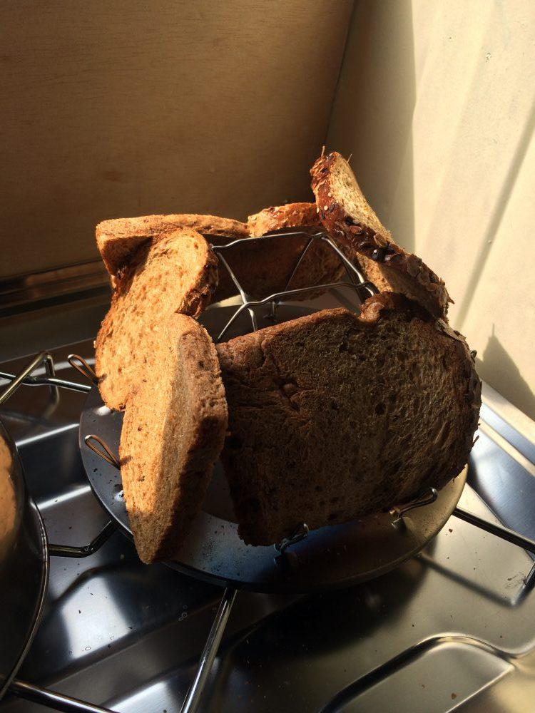 unser neuer Toaster