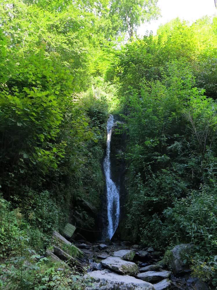Wasserfall Burg Reinhardstein