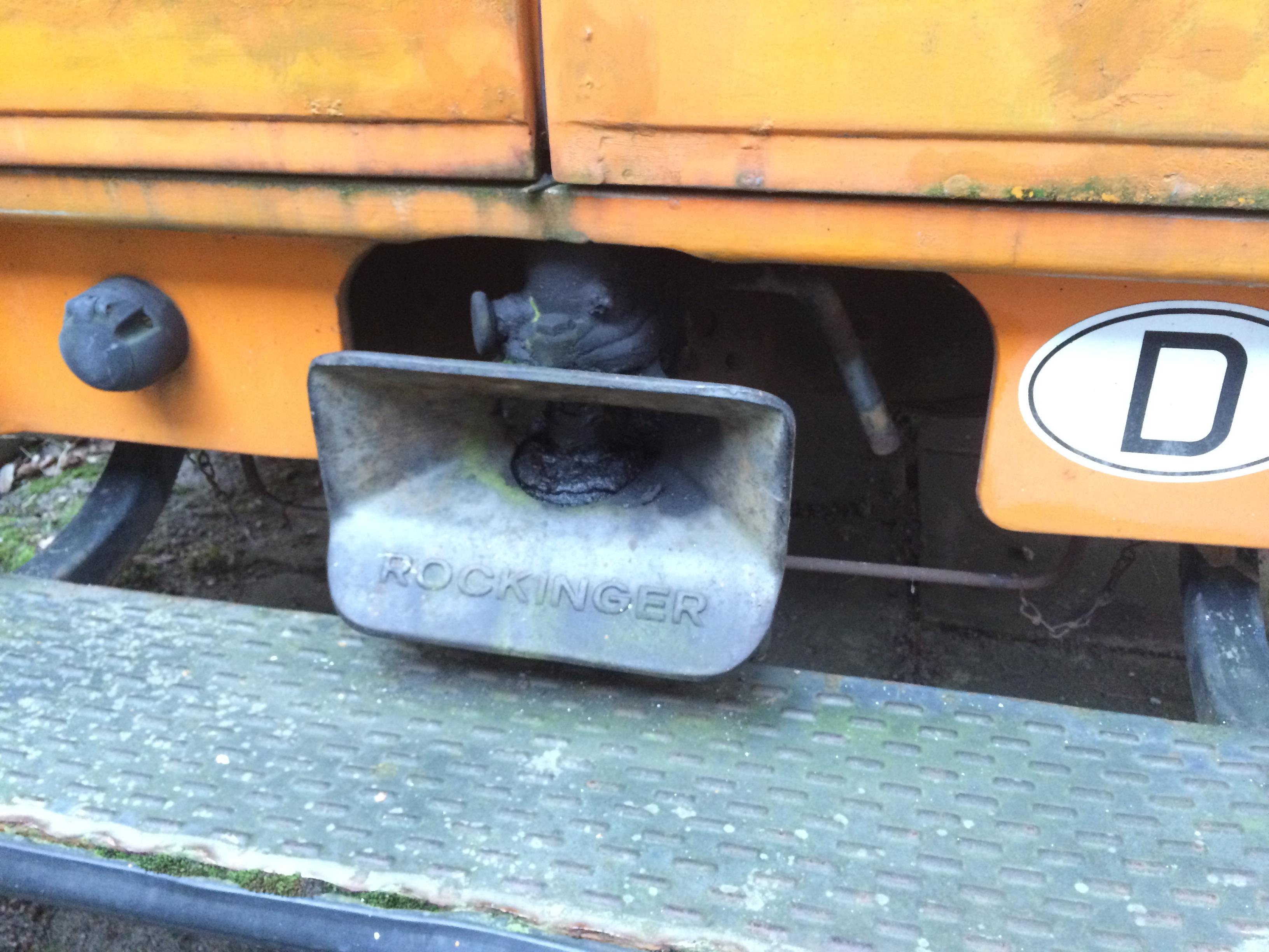 Düdo Orange Anhänger-Kupplung